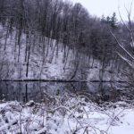Со спиннингом на зимнюю реку