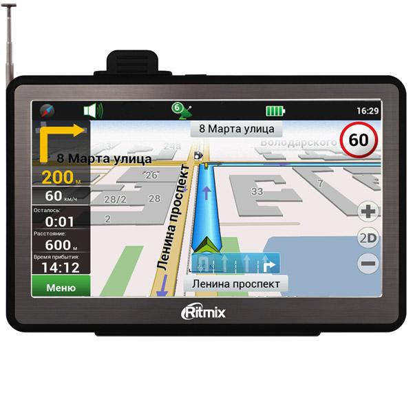 Обзор автомобильных навигаторов. Отзыв о  GPS-навигаторе Ritmix RGP-786 TV