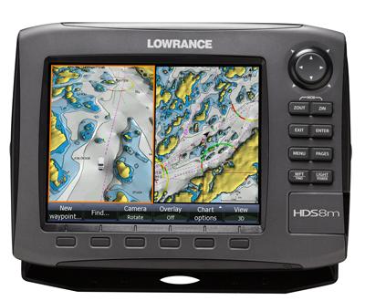 Обзор эхолотов для рыбалки.   Картплоттер Lowrance HDS-8m GEN-2  отзывы.