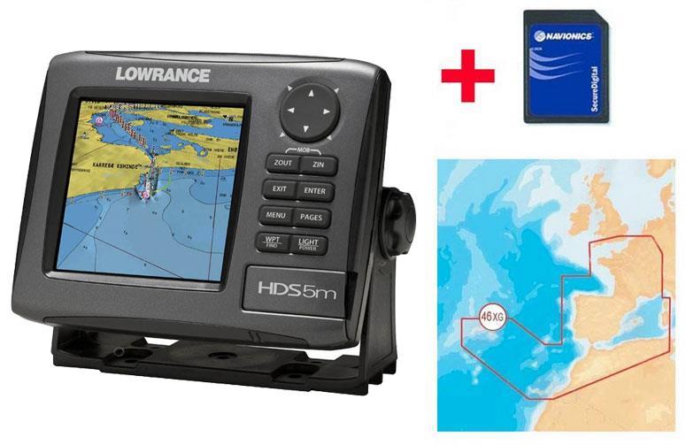 Картплоттер Lowrance HDS-5m GEN2