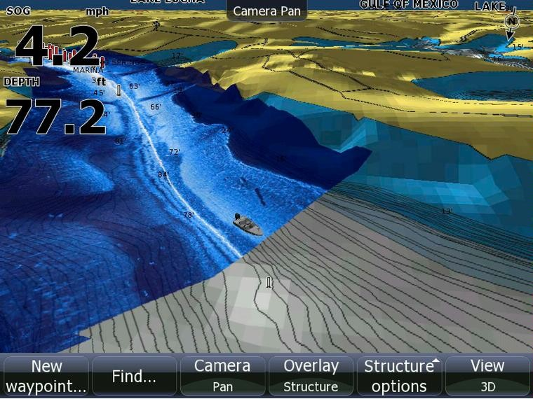 Эхолот радар Lowrance HDS-5 Gen2