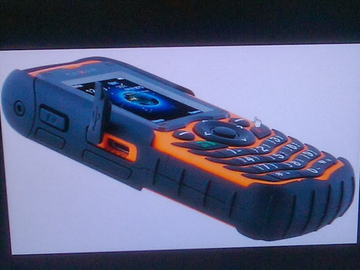 Телефон для экстремальных условий использования — Texet TM 510 R