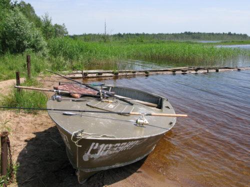 лодка из металла для рыбалки