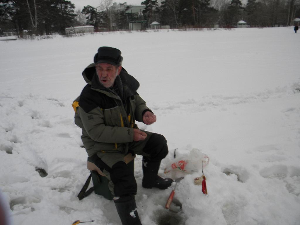 зимня рыбалка в подмосковье
