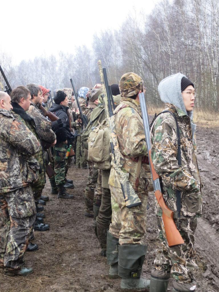 охота на фазана зимой