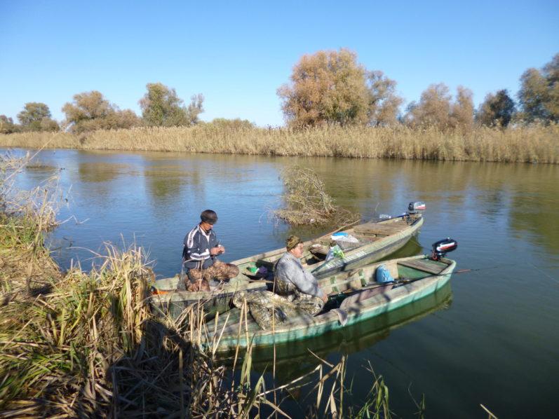 Незабываемая рыбалка в кирсановском хозяйстве