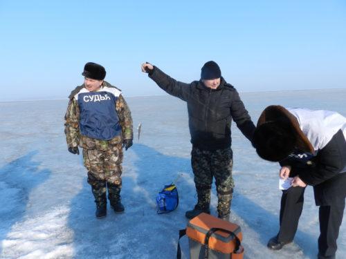 Зимняя рыбалка в охотничьем обществе ТОФ