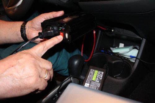 Автомобильный преобразователь напряжения