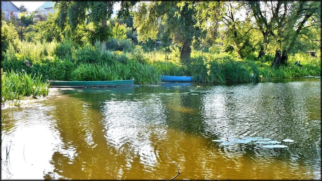 река, рыбалка,