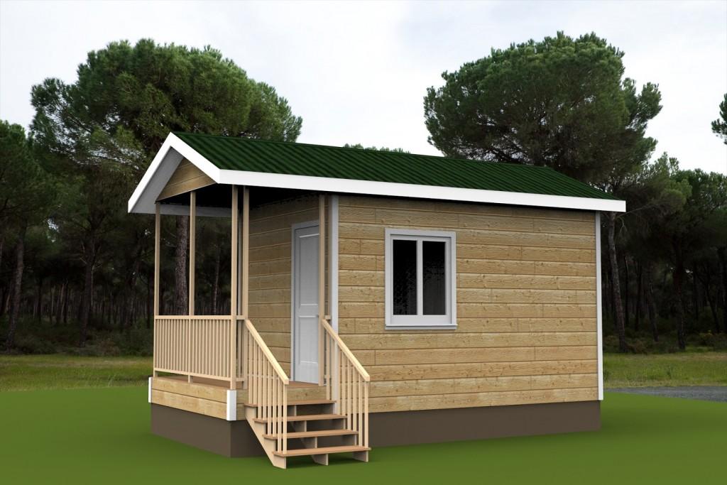 Гостевой домик-баня для базы отдыха