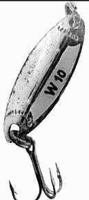 Блесна Williams W10: обзор