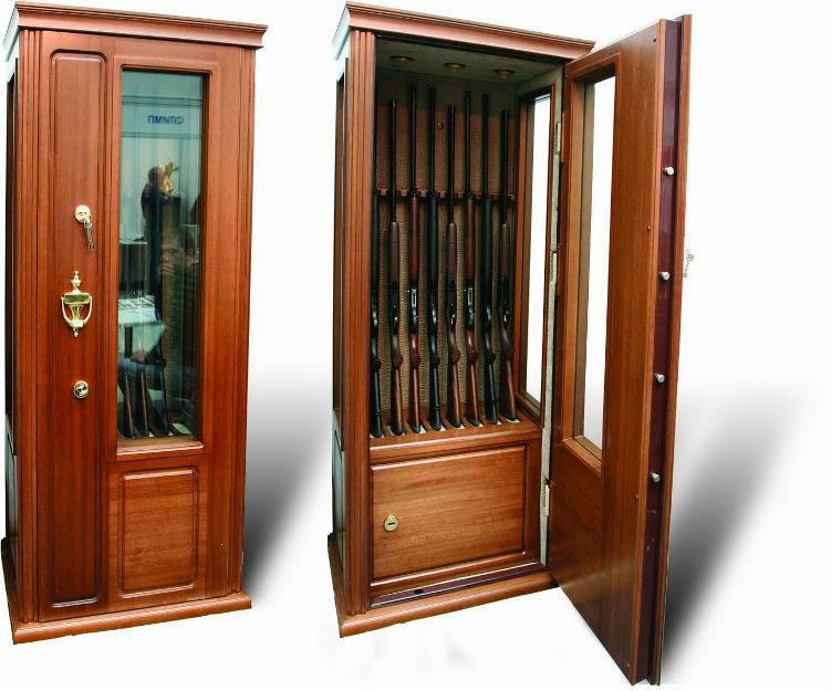 Покупка соружейного сейфа для охотников