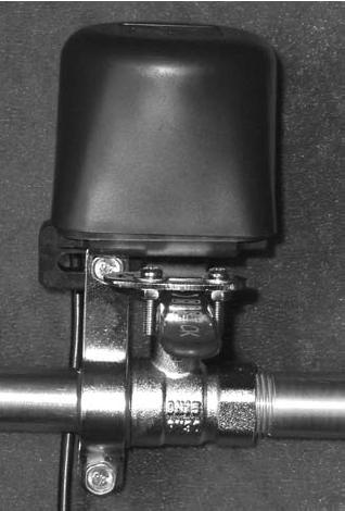 Поворотное устройство для автоматического перекрытия воды