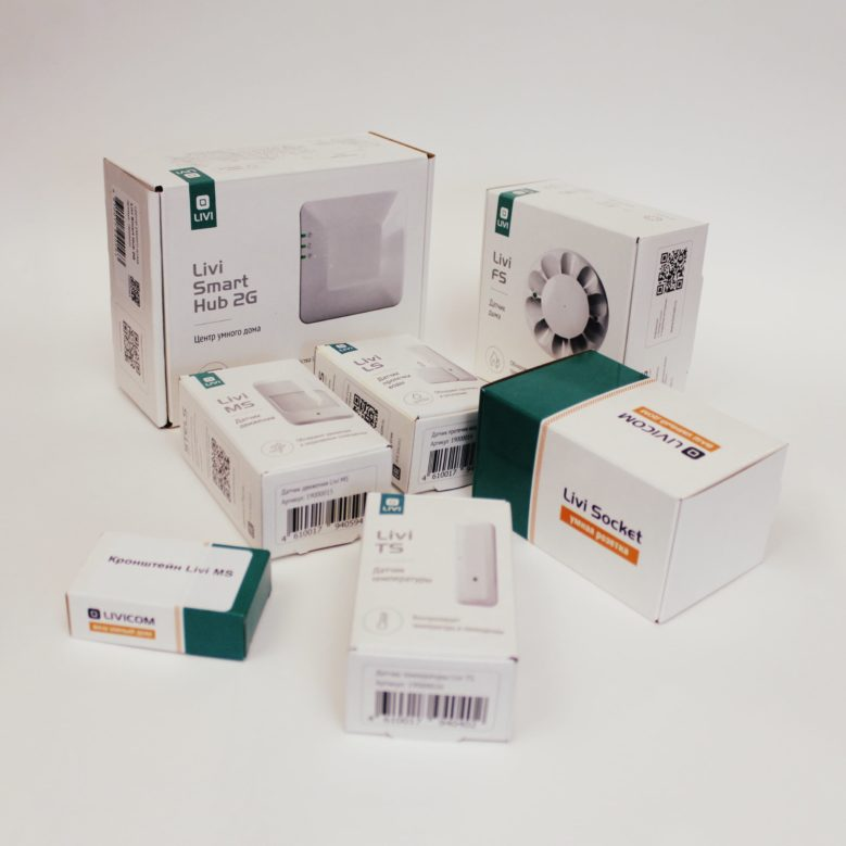 Устройства умного дома Livicom